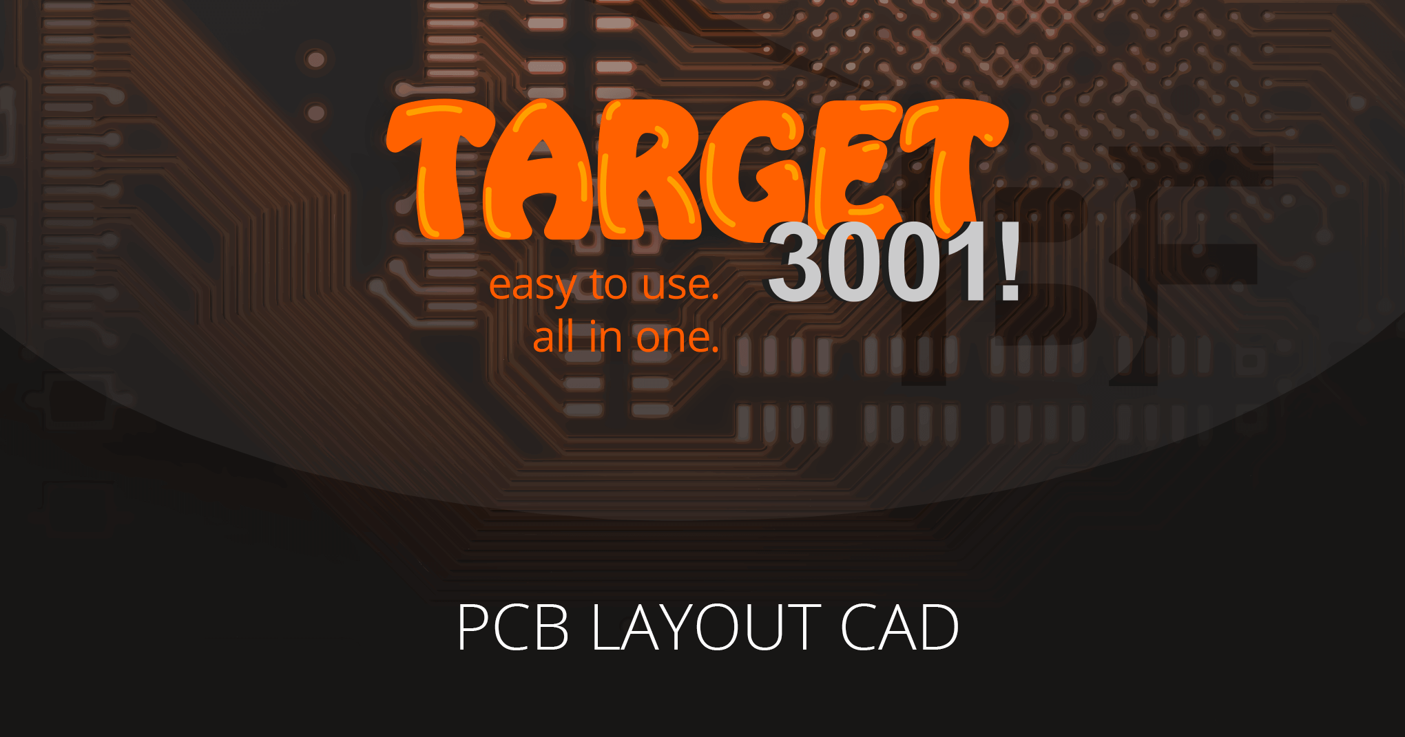 Target 3001 Pcb Design Software Ib Friedrich Electronic Circuit Board Maker Buy